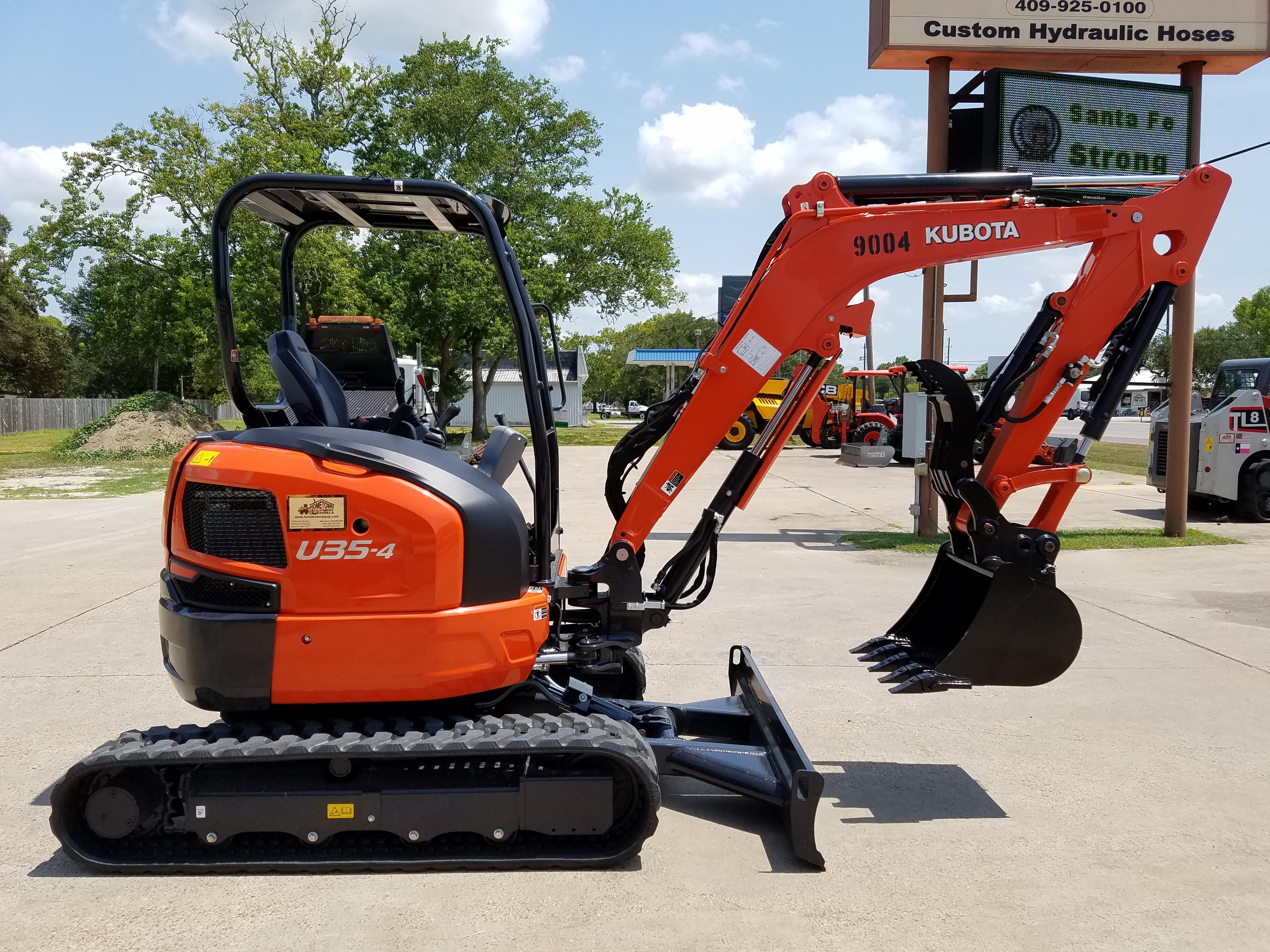 Excavators For Rent, Santa Fe TX  serving Alvin Tx & Galveston