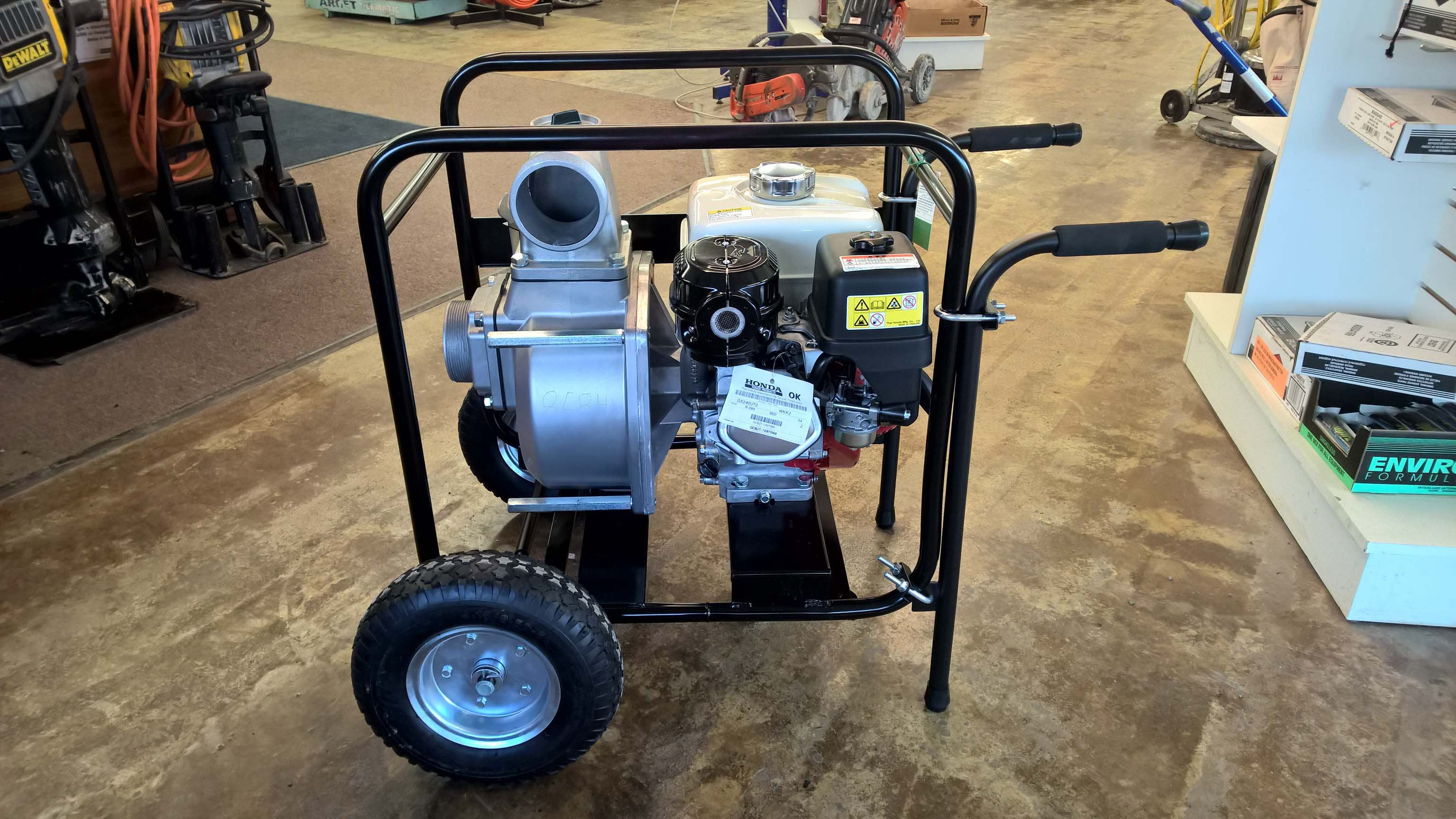 Water Pumps for Rent-Hometown Equipment Rentals