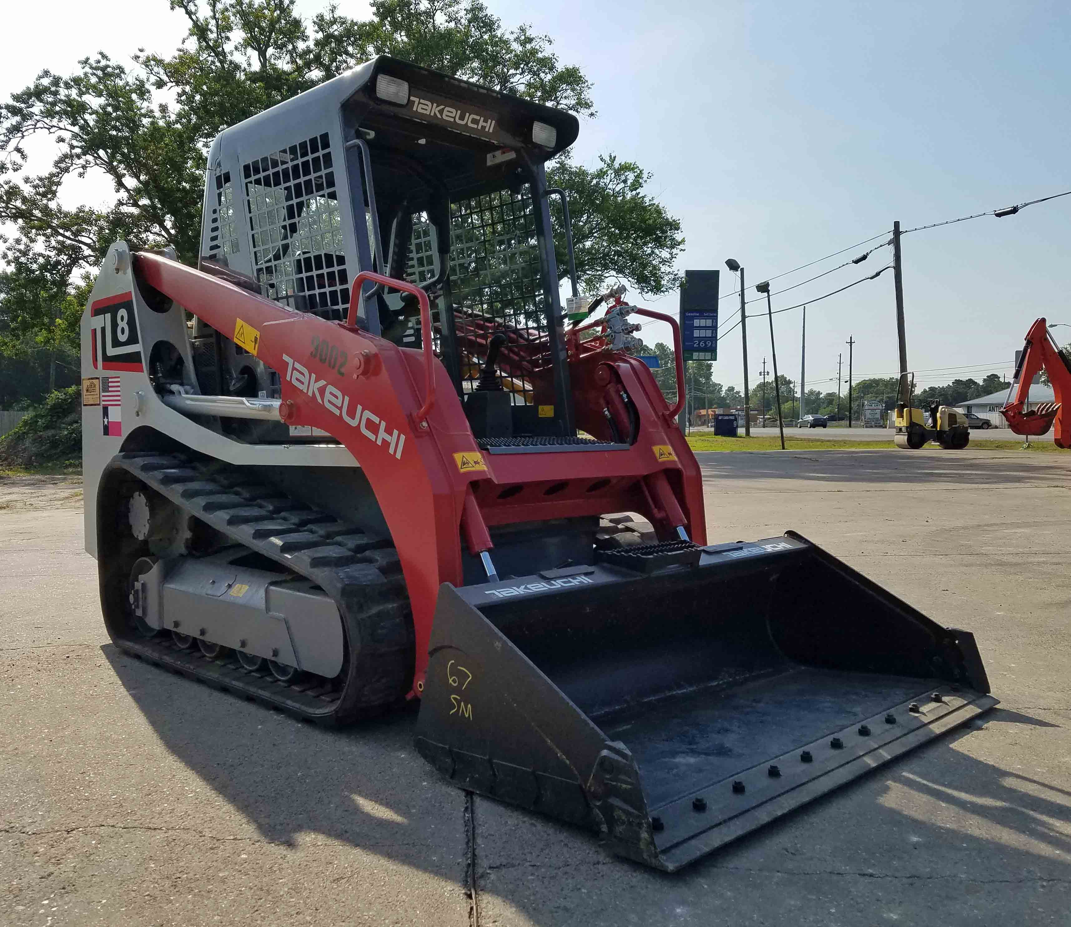 Bobcat Skid Steer & Attachments for Rent, Santa Fe, TX