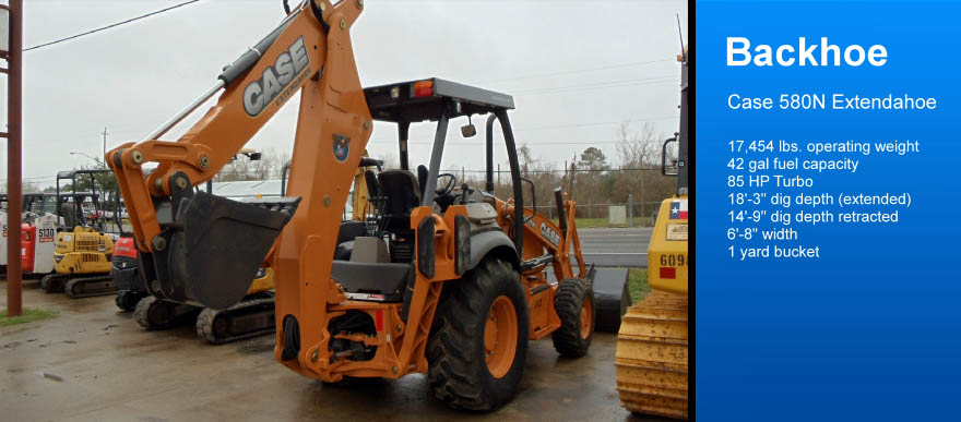 Backhoe Rental League City