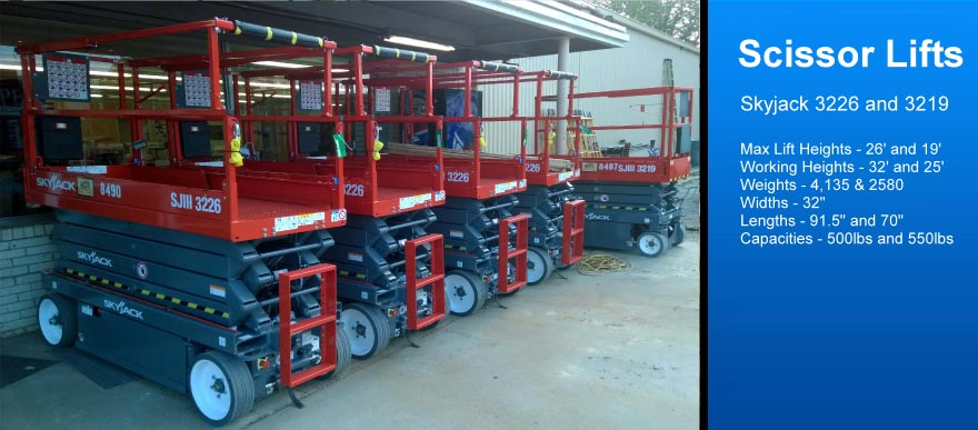 Scissor Lift Rental galveston